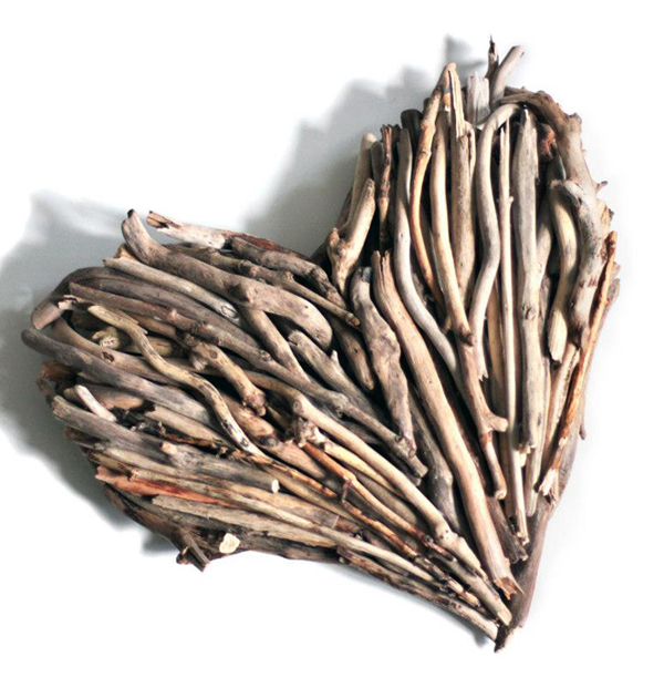 Drift Wood Heart