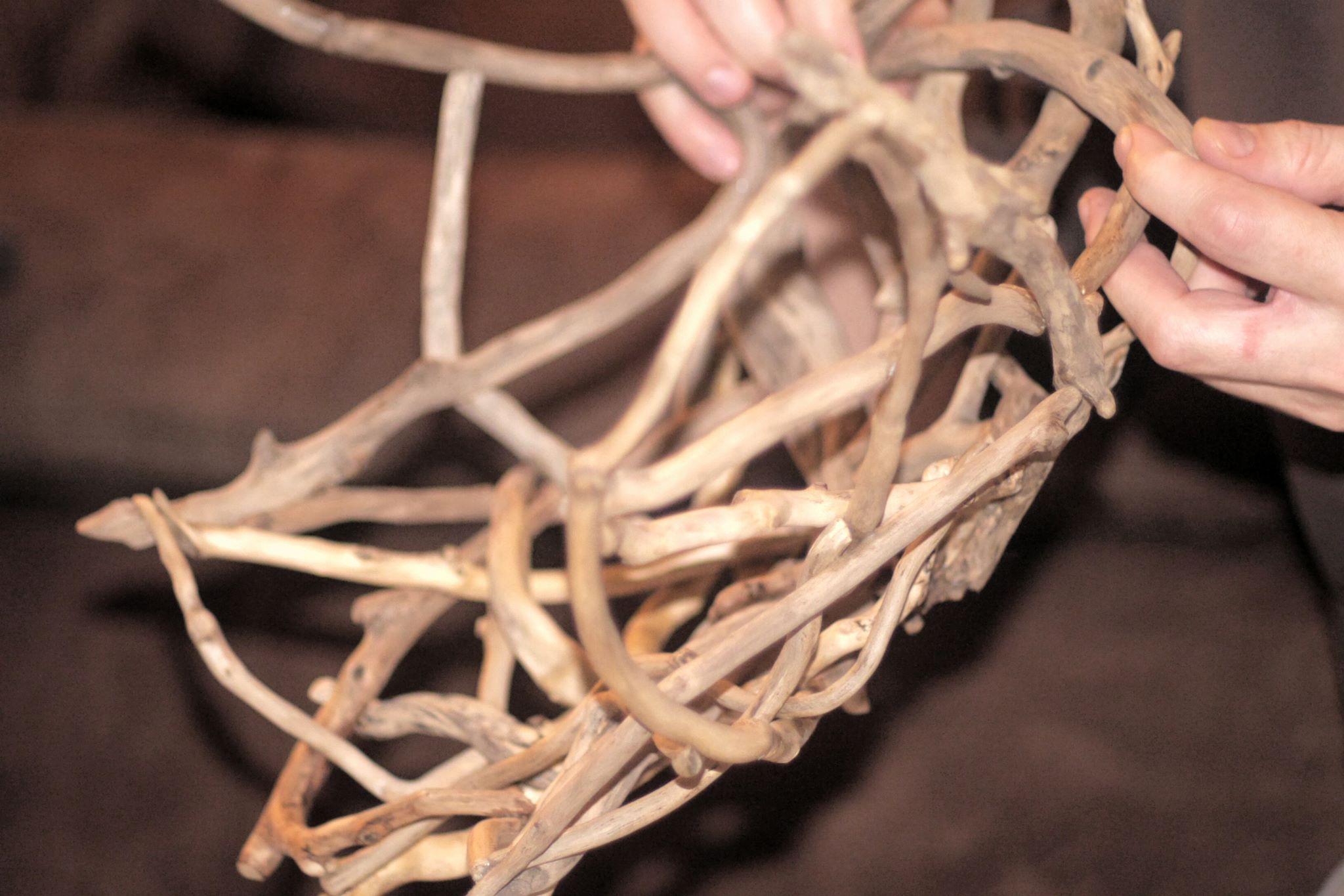 Driftwood Bowl- making of