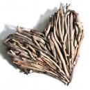 Driftwood Heart; Driftwood Hearts