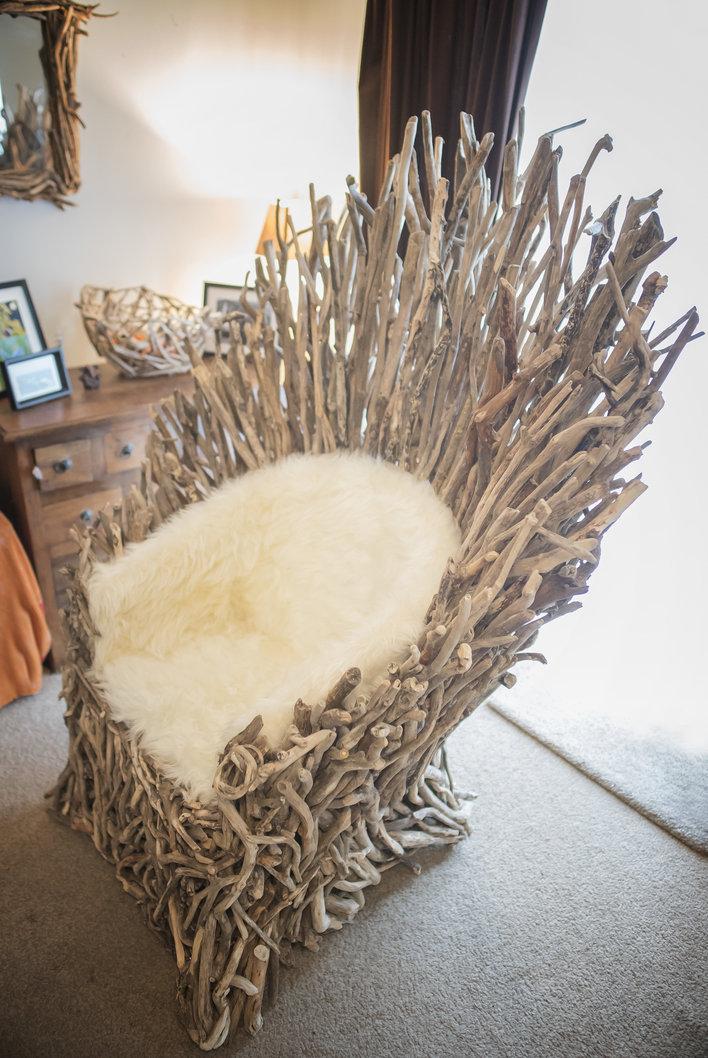 Driftwood Throne Portrait