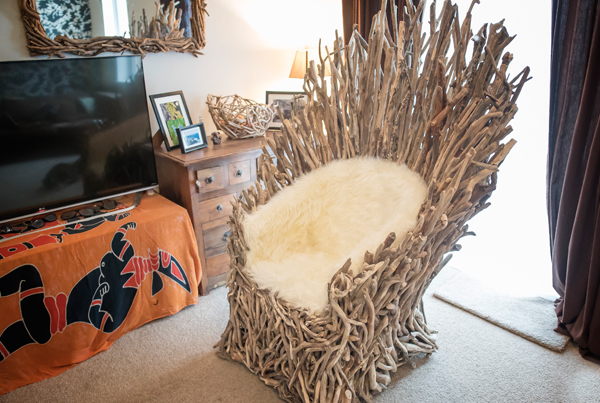 Driftwood Throne